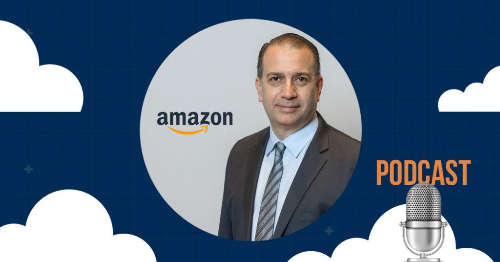 Picture of Rich Goldstein of Goldstein Patent Law & amazon logo