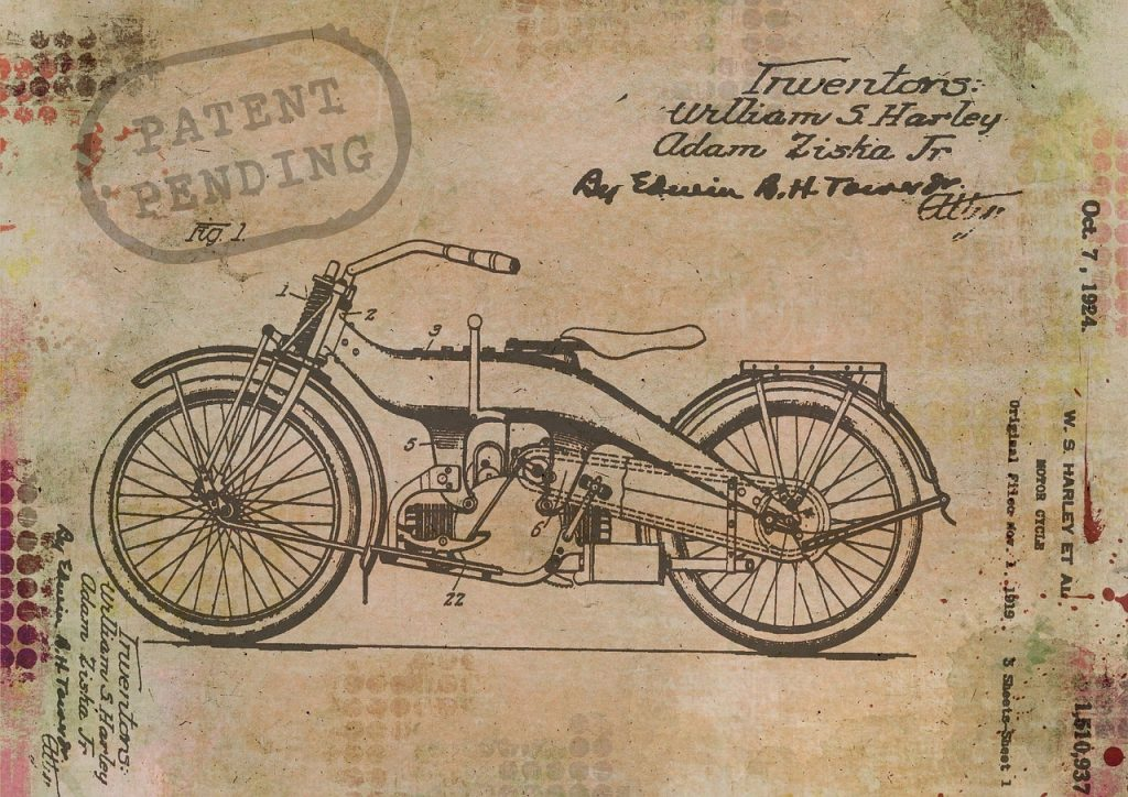 Old copy of a pending patent