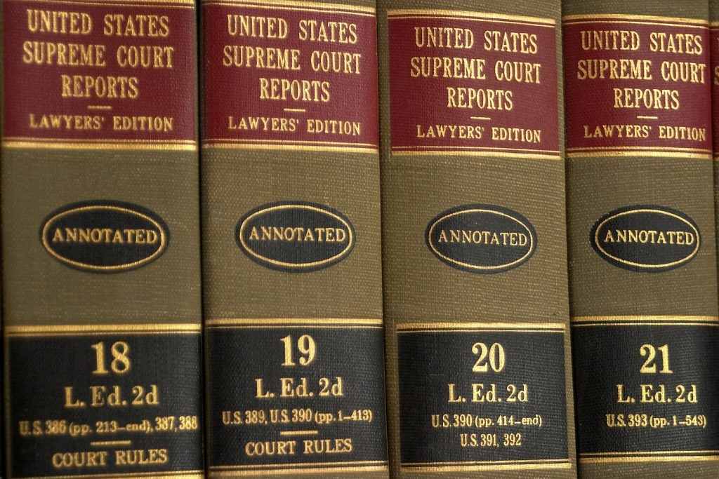 Law reports to help determine patent infringement cases
