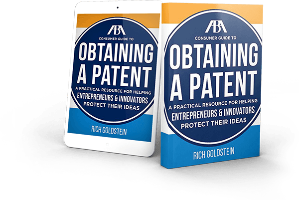 obtaining a patent book cover