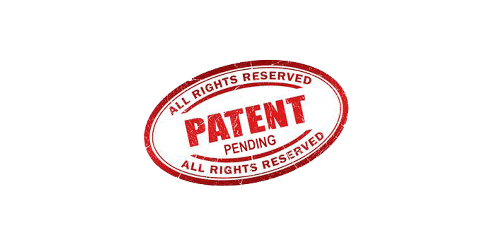 stamped words patent pending